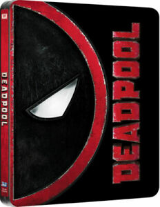 DEADPOOL Blu ray Steelbook ( NEW ) REG A - 2 Disc Set