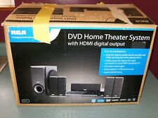 RCA DVD Home Theater System HDMI 5.1 Speakers Remote Subwoofer Model RTD317 NEW