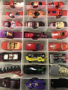 Hot Wheel & Match Box Lot W/case Lot#3