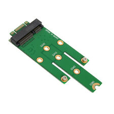 Mini mSATA PCI-E SATA 3.0 SSD to NGFF M.2 B+ Male Adapter Converter Card Key