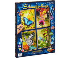 Schipper 609340628 - Painting by Numbers - Butterflies (Quattro) - New