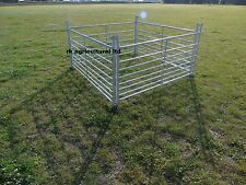 SHEEP HURDLES 10 X 6FT LONG GALV STEEL NEW