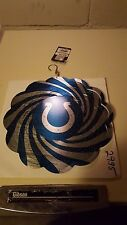 """Indianapolis Colts NFL Geo Wind Spinner Free Shipping0"""", Blue & Gray, Regular Se"""