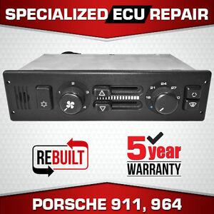 Repair - Porsche 911 964 Heater HVAC CCU AC Climate Control Unit 964 659 047 01