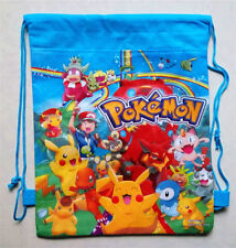 New Pokemon Backpack Swimming Clothes Environmental Toy Drawstring Bag