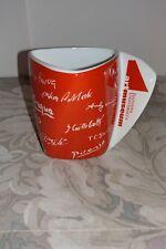 Indiana University Art Museum Red Coffee Mug