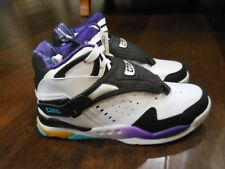 CONVERSE AERO JAM MID 244261C Hornets Larry Johnson Shoes Size 6.5 Kids 39 EUR
