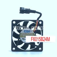 1pc AVCF6015B24MCooling fan 3PinDC24V 0.10A -173K #XX