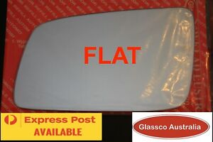 LEFT Passenger side FLAT mirror glass replacement  HOLDEN ASTRA TS (1998-2004)