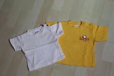 LOT DE 2 TEE SHIRTS BASIC -  3 MOIS