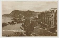 Devon postcard - Capstone Crescent & Hillsborough, Ilfracombe - RP