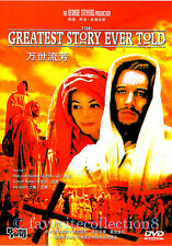 The Greatest Story Ever Told (1965) - Max von Sydow, Dorothy McGuire - DVD NEW