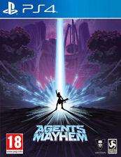 Agents of Mayhem Day one DLC Steelbook Edition PS4 * Neuf Scellé PAL *
