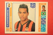 PANINI CHAMPIONS LEAGUE 2014/15 N. 587 A. TEIXEIRA BLACK BACK MINT!