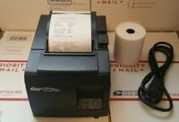 STAR MICRONICS TSP100 TSP143LAN THERMAL RECEIPT PRINTER - ETHERNET
