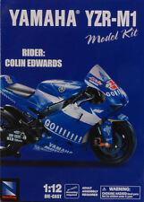 Yamaha YZR-M1 Colin Edwards 2005 Moto 1:12 Die-Cast Model Kit 42315 NEW RAY