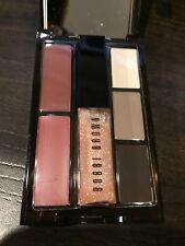 New- BOBBI BROWN, Limited 3 Lip Colors &  3 Eye Shadow Palette NWOB