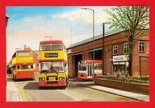 Bus Postcard ~ Mercian Midland Red Tamworth Garage - Olympians - MA Arts B56