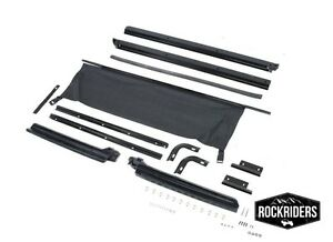 1987-1995 Jeep Wrangler Replacement Soft Top Channel Hardware Kit