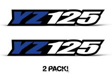 AMR Racing Yamaha YZ 125 Swingarm Graphic Kit Number Plate Decal Sticker Part