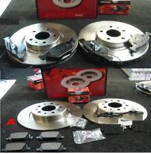 ALFA ROMEO GT 2004-2009 MINTEX FRONT REAR BRAKE DISCS BRAKE PADS