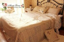 French Antique Bed Linens