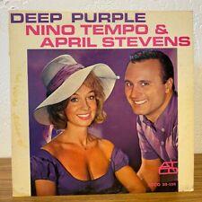 Nino Tempo &April Stevens - Deep Purple (Vinyl LP) 1963
