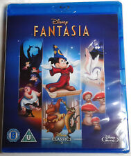 FANTASIA Brand New Sealed BLU-RAY Movie 1940 Walt Disney Animated Film