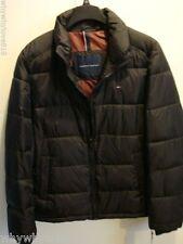 NWT Men Tommy Hilfiger Puffer Coat Jacket BLACK L