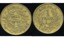 TUNISIE TUNISIA 1 franc 1945  ( ca )