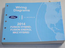 2014 Ford Lincoln Service Wiring Diagram Manual Fusion, MKZ Hybrid/Energi