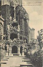 Le Calvaire de l'Eglise St. Paul Anvers Belgium Postcard