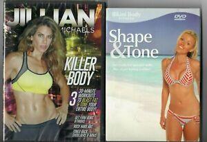 Jillian Michaels Killer Body Fitness DVD + Shape & Tone (DVD) [FREE]