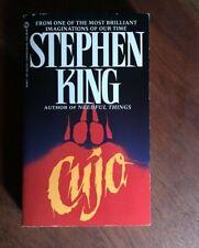 Cujo by Stephen King 1982, Uk- A Format Paperback, Reprint Horror Vintage Retro