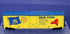 RTR HO Scale 50' Plug Door Boxcar / New York 1788 Empire State / 11th