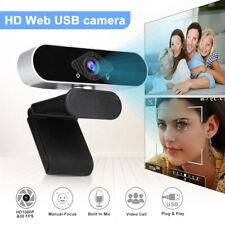 1080P HD Webcam Web Kamera Mit Mikrofon für PC Laptop Computer Mac Notebook DHL