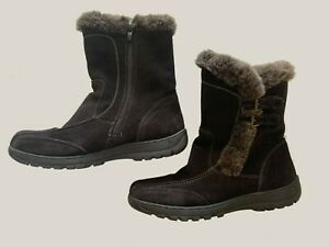 SPRING STEP WOMEN'S SOFT SHEARLING OUTSOLE ANKLE BOOTS SIZE 41, US 9.5-10