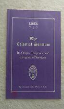 Rosicrucian - LIBER 777 Celestial Sanctum Origin, Purposes & program of services