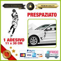 Adesivo KOBE BRYANT 03 Vinile Prespaziato Auto Moto Casco LOS ANGELES LAKERS 24