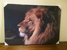 Natural Nature African Safari Animals Wall Canvas Print/Picture/s Set of 4