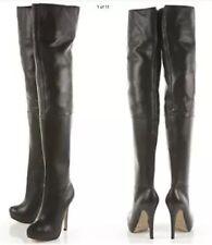 "TopShop Women's Stiletto Very High Heel (greater than 4.5"") Zip Boots"