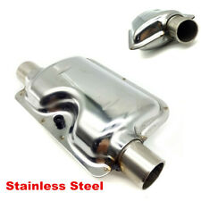 Car Accessories 24mm Sliver Silencer Muffler For Car Parking Air Diesel Heater