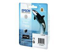 Epson T76094010 Tintenpatrone 26 Ml hell schwarz