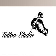 Tattoo Studio 2 Walltattoo Mur Autocollant Mural Wallpaper mur Bijoux 100 cm