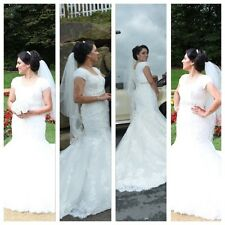Maggie Sottero Wedding Dress in a Size 12 but can also fit a size 10 or 14