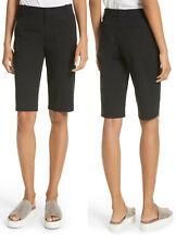 NWT $175 Vince Coin Pocket Cotton Linen Stretch Bermuda Short Size 8
