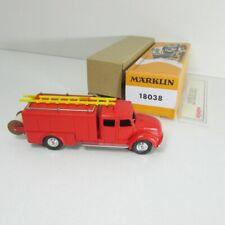 Märklin 18038 Magirus Deutz Rundhauber Feuerwehr Gerätewagen Replikat