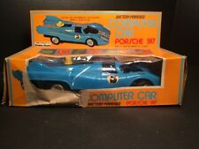 PORSCHE 917 RADIO SHACK COMPUTER CAR with original box VINTAGE