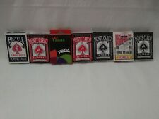 Lot Of 12 Used Playing Cards Decks Of 52. B19