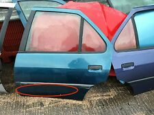 Peugeot 306 HDI XSI XS N/S Passenger side Rear door in blue